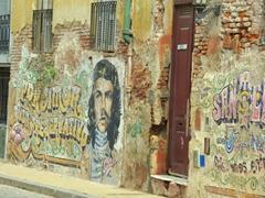 Street graffiti; Buenos Aires