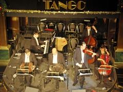 The orchestra; Senor Tango; Buenos Aires