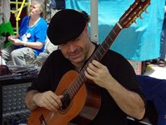 Street performer, San Telmo