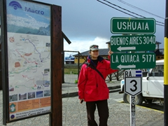 Argentina is huge! We had to catch a 4 hour flight from Buenos Aires to Ushuaia, the southernmost point of the world