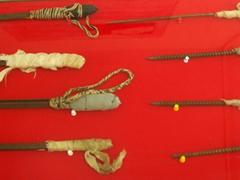 Old school prison shanks; Ushuaia maritime/prison museum