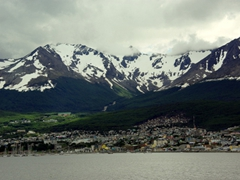 European-style villages nestled in Alpine scenery...we had no idea that South America (Ushuaia) would be this pretty!