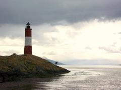 Les Eclaireurs Lighthouse; Beagle Channel