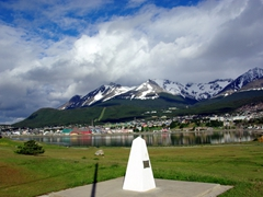 Ushuaia on a sunny day provides spectacular views