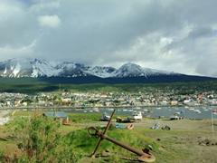 A nice view of pretty Ushuaia
