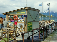 """Post office at the """"end of the world""""; Tierra del Fuego Park"""