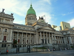 The picturesque Argentine Congress; Buenos Aires
