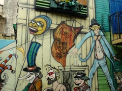 Caminito is an interesting suburb of Buenos Aires to explore, with lots of street art