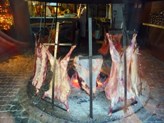 Buenos Aires is a city for meat lovers..parrillas abound on almost every city block