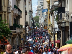 San Telmo is transformed for the Sunday flea market, a shopping extravaganza
