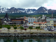 Ushuaia is one of the most popular gateways for cruises to Antarctica
