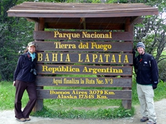 Tierra del Fuego National Park makes for a nice day trip from Ushuaia