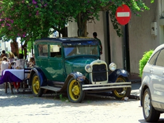 Colonia is an antique car lover's delight!