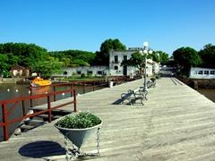 Colonia's sleepy waterfront