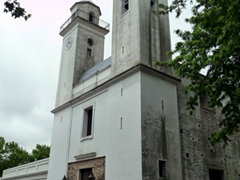 The twin towers of Colonia's main church are visible from almost everywhere in the city