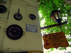 Quaint streetsigns on every corner; Colonia