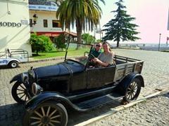 Cruising around Colonia
