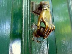 Quaint door knocker
