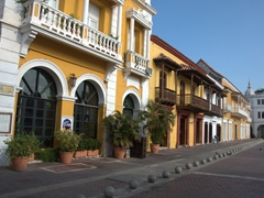Final view of Plaza da la Aduana