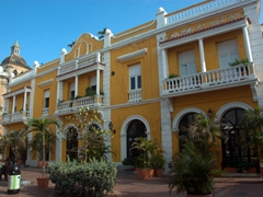 Beautiful architecture abounds in lovely Cartagena