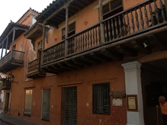 We loved the architecture of old Cartagena