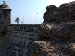 Cartagena's city walls