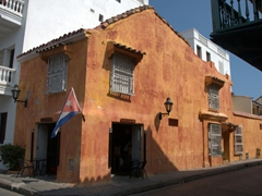 A Cuban bar/restaurant; Cartagena