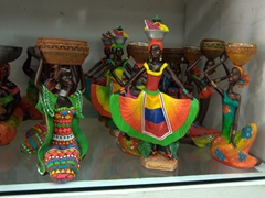 "Figurines of ""Las Negritas""; Las Bovedas"