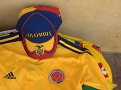 Colombia is football crazy!