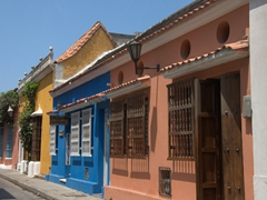 Getting lost in the pastel hued labyrinth streets of Cartagena is a joy