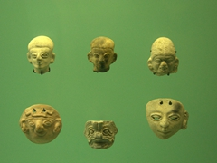 Clay facial masks; Gold Museum in Cartagena