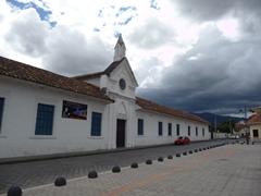 Cuenca's museum of modern art (this building used to be a treatment center for alcoholics)