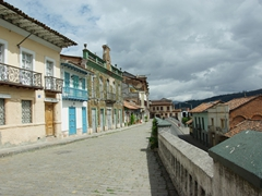 Cuenca is a city meant for walking...cobblestoned streets and old colonial style buildings on every corner