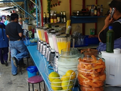 Your choice of fruit drinks made fresh all day
