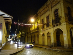 Cuenca at night