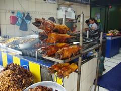 Roasted cuy (guinea pig), an Ecuadorian specialty