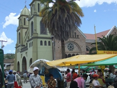 Gualaceo's Sunday market is a great shopping opportunity. We found prices here to be a fraction of what they are in Cuenca