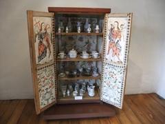 Detailed cabinet; Museo del Monasterio de las Conceptas