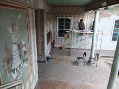 There is a lot of renovation work going on at Casa de las Palomas, and the end result will be spectacular
