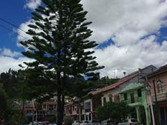 Chordeleg's main plaza
