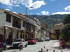 Gualaceo's main square