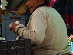 Vendor; Gualaceo Market