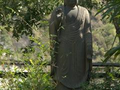 Buddha at the base of Hsiang-Te Temple; Taroko