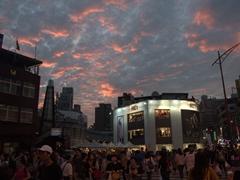 A beautiful Taipei sunset