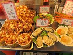 Seafood; Shilin night market
