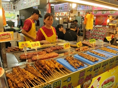 Grilled meats; Shilin night market