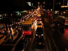 Taipei night traffic