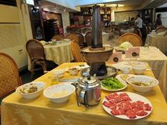 Hot pot add on at Tang Kung BBQ restaurant
