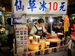 Boba tea at Huaxi Night Market