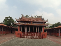 Panorama of the Tainan Confucius Temple